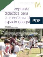 3. Una propuesta didáctica para la enseñanza del espacio geográfico