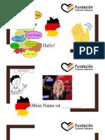 Deutsch 1 - Tag 1 Begrüssungen