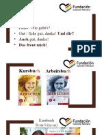 Deutsch 1 - Tag 2
