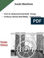 Introduction - Pumps