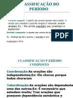 PERÍODO COMPOSTO-SUBORDINAÇÃO 2020