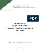 APOSTILA DE QUIMICA ANALÍTICA QUANTITATIVA