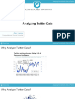 Analyzing Social Media Data in Python chapter1