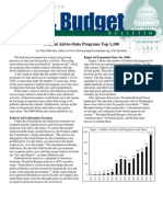 Federal Aid-to-State Programs Top 1,100, Cato Tax & Budget Bulletin No. 63