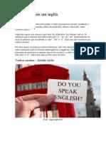 Verbos modais em inglês