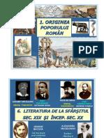 Planse Cabinet Romana