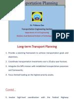 Long term Transportation Planning