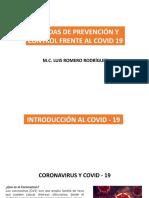 Medidas de Prevención y Control Frente Al Covid 19
