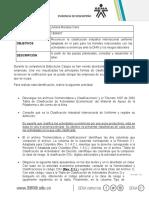 Taller 2 Clasificación Industrial Internacional Uniforme