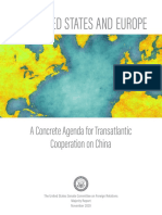 The United States and Europe - A Concrete Agenda for Transatlantic Cooperation on China