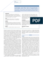 High-Potency Cannabis and the Risk of Psychosis