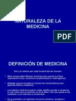 NATURALEZA DE LA MEDICINA (1)