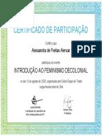 INTRODUÇÃO AO FEMINISMO DECOLONIAL