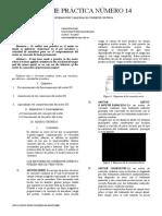 Informe Práctica Número 14