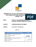MC.008.ED.01 - EM para Almacenaje Tuberías Cab1