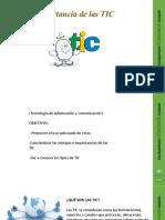 Charla Importancia de las TIC