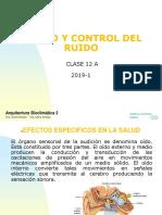 CLASE 12C Ruido y control de ruido_2019i
