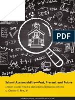 School Accountability—Past, Present, and Future by Chester E. Finn, Jr.