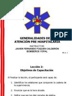 2. TR. GENERALIDADES DE LA ATENCIÓN PRE HSOPITALARIA.ppt