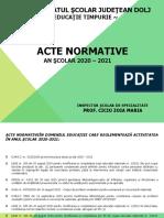 2_Acte normative 2020
