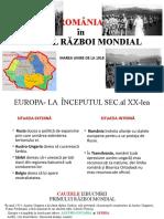 România în Primul Război Mondial.pptx