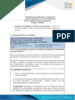 Guia de actividades y Rúbrica de evaluación - Tarea 4 - Emplear arreglos, matrices, gráficos 2D e interfaz gráfica de usuario (1).pdf