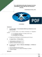 Evolución de la Metodología del TS - con aportes de Elsa Valdés.