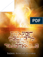 Prayer Secrets in the Tabernacle- by  Sadhu Sundar Selvaraj