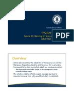 Rhode Island Marijuana Hearing Documents