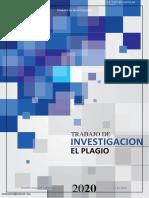 Trabajo de investigacion-El plagio