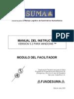 Manual Instructores - Modulo del Facilitador