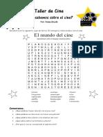 Encuentra las palabras CINE.pdf