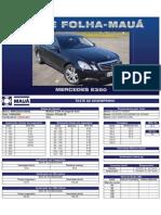 Teste Folha-Mauá - Mercedes-E350