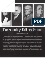 The Founding Fathers Online - Prologue, Winter 2010