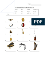 Potriviti denumirile instrumentelor