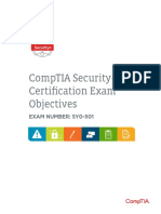 Comptia Security Sy0 501 Exam Objectives (7 0)