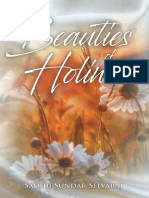 Beauties of Holiness by Sadhu Sandar Selvaraj