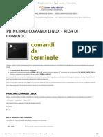 Principali-comandi-Linux-Riga di comando