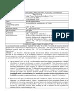Analisis de Sentencia C-244 de 2001 Aldair Tamara y Javier Barrios Uribe