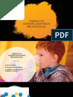 antiinflamatorios bronquiales