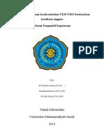 Pemilihan penjagaan kesekretariatan UKM UMG berdasarkan kesediaan anggota2