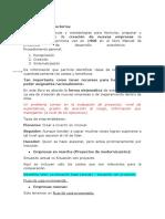 Resumen capítulo 1 - Proyectos de inversión.