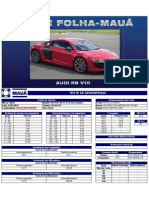 Teste Folha-Mauá - Audi R8 V10