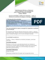Guía de actividades y rúbrica de evaluación - Unidad 1 - Tarea 2 - Métodos de monitoreo de plagas y enemigos naturales.pdf