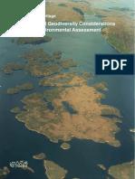 Guidance - Strategic Environmental Assessment - Biodiversity and Geodiversity Considerations 05 Aug 2013 (1).pdf