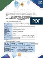 ESTADISTICA-Guía de actividades y rúbrica de evaluación - Fase 4
