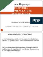 CHAPITRE 5 NOMENCLATURE SYSTEMATIQUE.ppt