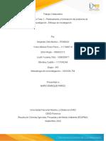 Grupo 343-Fase 2- Planteamiento y formulación del problema de investigación