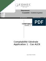 1 1 TD1 ES Cas ALEX énoncé et supports