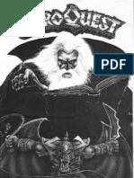 """HeroQuest - """"Das Buch der Regeln"""""""
